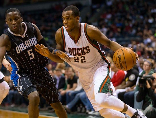 Magic vs. Bucks - 11/27/15 NBA Pick, Odds, and Prediction