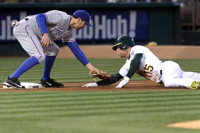 Athletics vs. Rangers - 4/9/15 MLB Pick, Odds, and Prediction
