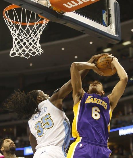 Nuggets at Lakers - 11/3/15 NBA Pick, Odds, and Prediction