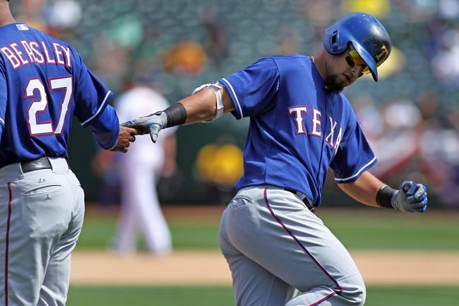 Rangers vs. A's - 5/1/15 MLB Pick, Odds, and Prediction