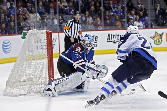 Jets vs. Avalanche - 11/23/15 NHL Pick, Odds, and Prediction