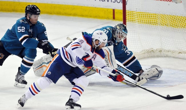 Edmonton Oilers vs. San Jose Sharks - 12/9/15 NHL Pick, Odds, and Prediction