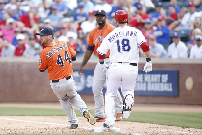 Texas Rangers vs. Houston Astros - 4/11/15 MLB Pick, Odds, and Prediction