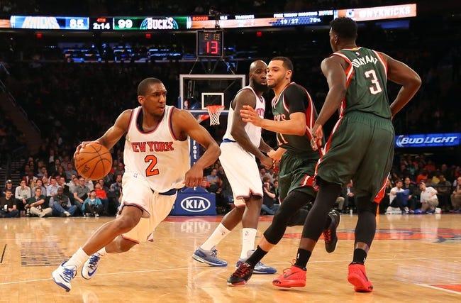 Bucks vs. Knicks - 10/28/15 NBA Pick, Odds, and Prediction