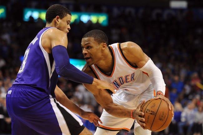 Oklahoma City Thunder vs. Sacramento Kings - 12/6/15 NBA Pick, Odds, and Prediction
