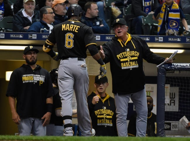 Milwaukee Brewers vs. Pittsburgh Pirates - 4/11/15 MLB Pick, Odds, and Prediction