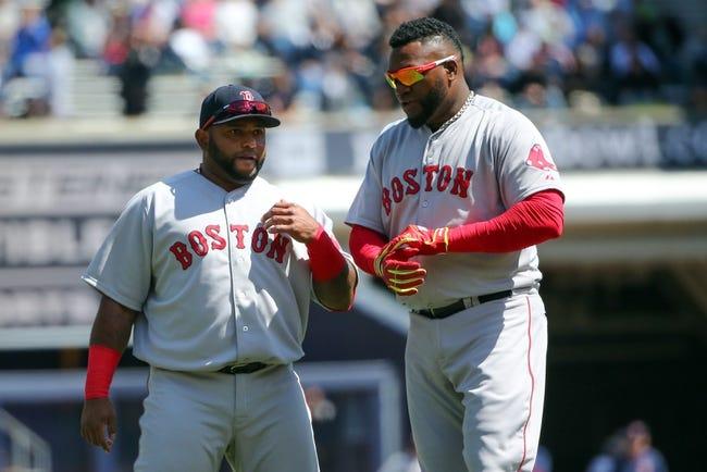 Red Sox vs. Nationals - 4/13/15 MLB Pick, Odds, and Prediction
