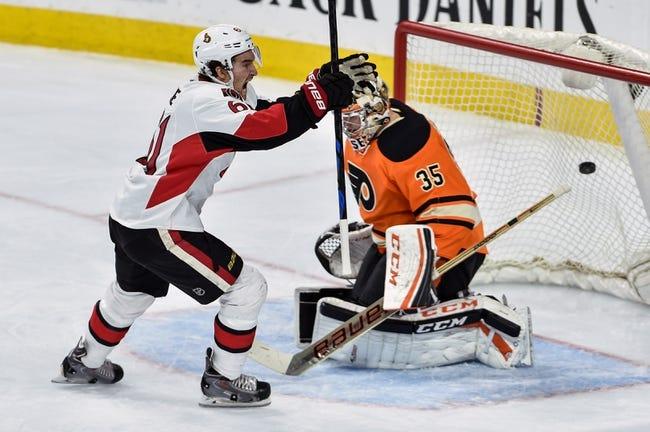 Ottawa Senators vs. Philadelphia Flyers - 11/21/15 NHL Pick, Odds, and Prediction