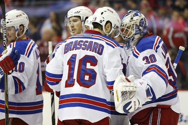 Washington Capitals  at New York Rangers- 4/30/15 NHL Pick, Odds, and Prediction