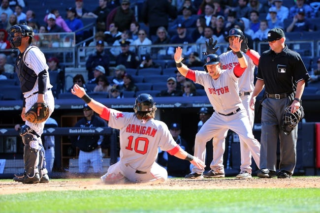 Yankees vs. Red Sox - 4/12/15 MLB Pick, Odds, and Prediction