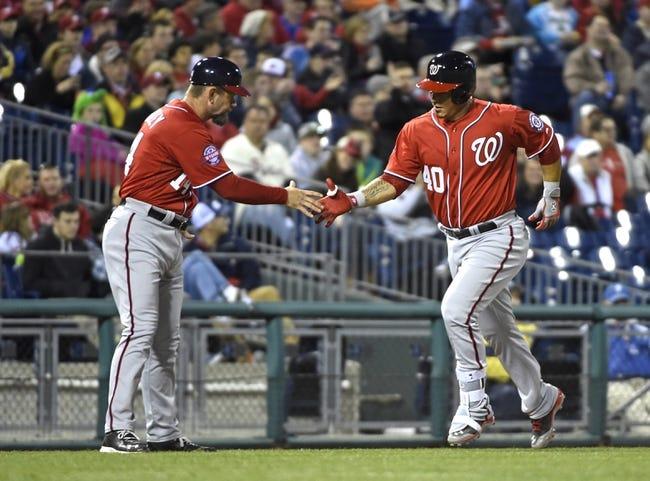 Philadelphia Phillies vs. Washington Nationals - 4/12/15 MLB Pick, Odds, and Prediction