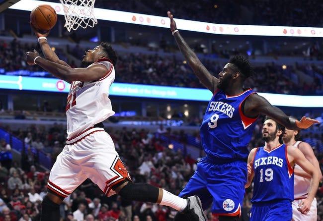 Philadelphia 76ers vs. Chicago Bulls - 11/9/15 NBA Pick, Odds, and Prediction