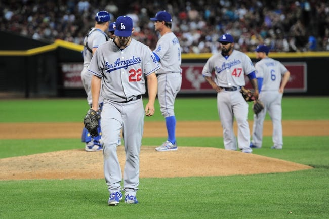 Diamondbacks vs. Dodgers - 4/12/15 MLB Pick, Odds, and Prediction