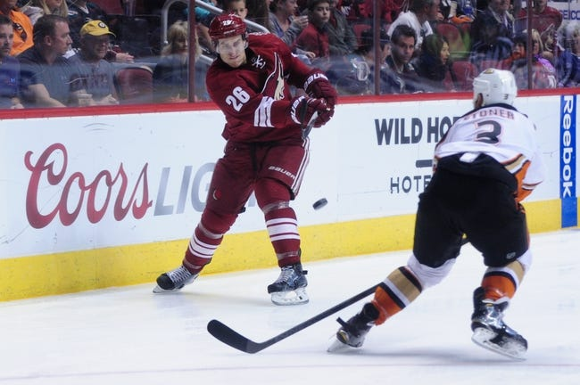 Coyotes at Ducks - 10/14/15 NHL Pick, Odds, and Prediction