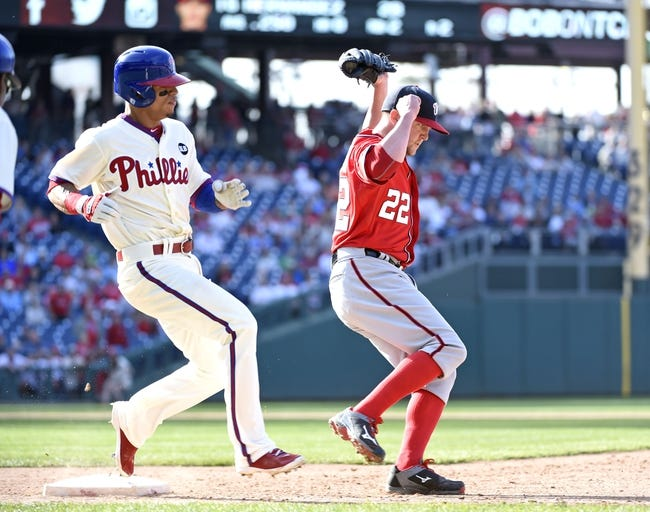 Nationals vs. Phillies - 4/16/15 MLB Pick, Odds, and Prediction