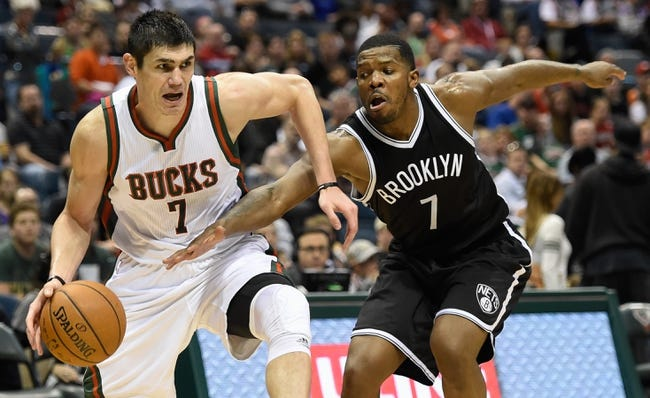 Bucks at Nets - 11/2/15 NBA Pick, Odds, and Prediction