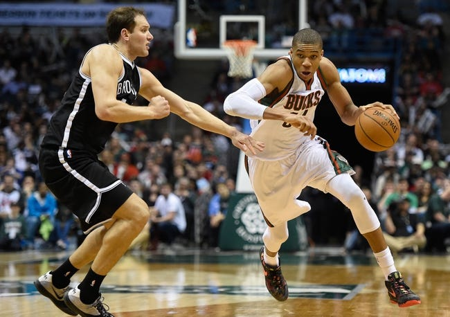 Brooklyn Nets vs. Milwaukee Bucks - 11/2/15 NBA Pick, Odds, and Prediction