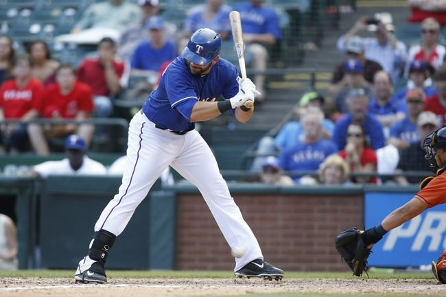 Houston Astros vs. Texas Rangers - 5/4/15 MLB Pick, Odds, and Prediction