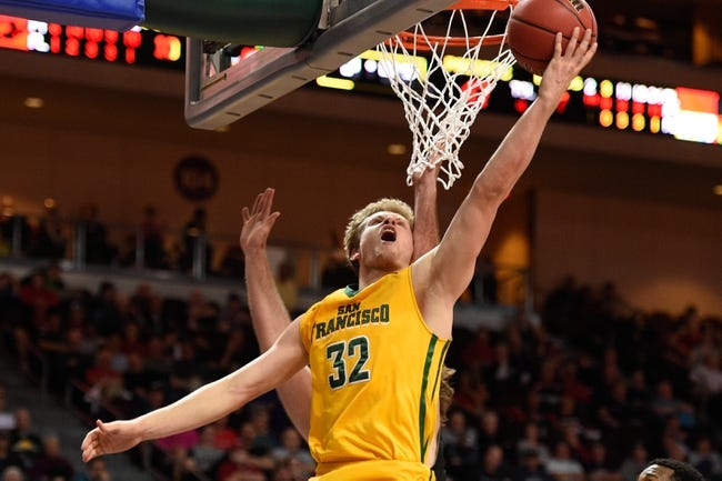 San Francisco Dons vs. Pacific Tigers - 12/23/15 College Basketball Pick, Odds, and Prediction
