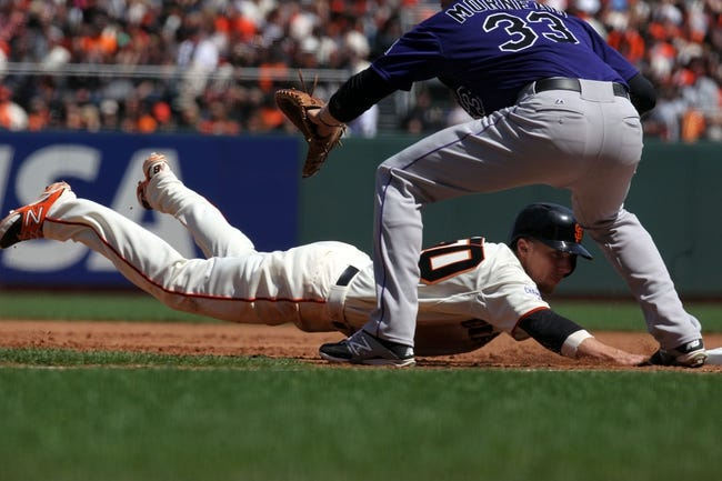 Giants vs. Rockies - 4/14/15 MLB Pick, Odds, and Prediction