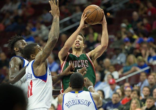 Milwaukee Bucks vs. Philadelphia 76ers - 11/4/15 NBA Pick, Odds, and Prediction