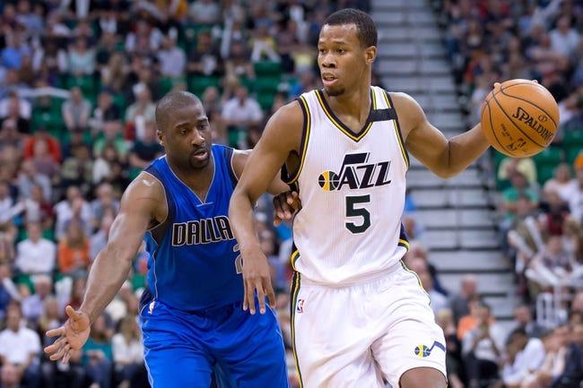 Dallas Mavericks vs. Utah Jazz - 11/20/15 NBA Pick, Odds, and Prediction