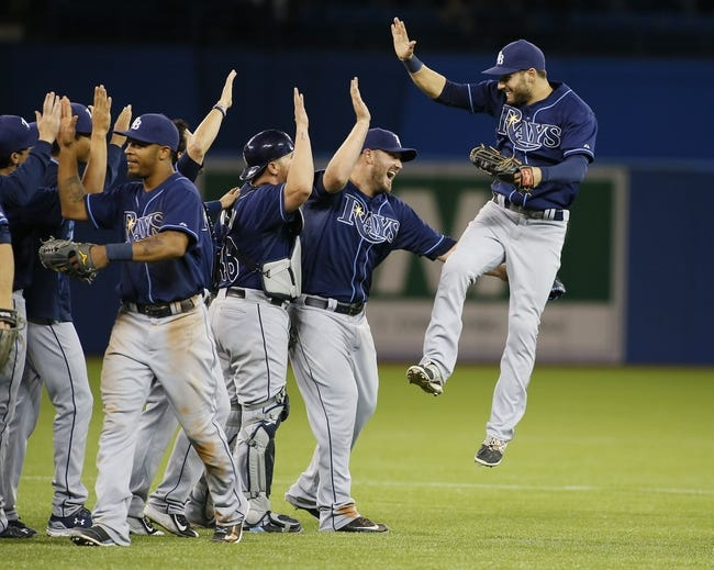 Toronto Blue Jays vs. Tampa Bay Rays - 4/15/15 MLB Pick, Odds, and Prediction
