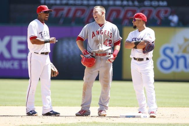 MLB | Texas Rangers (6-9) at Los Angeles Angels (7-9)