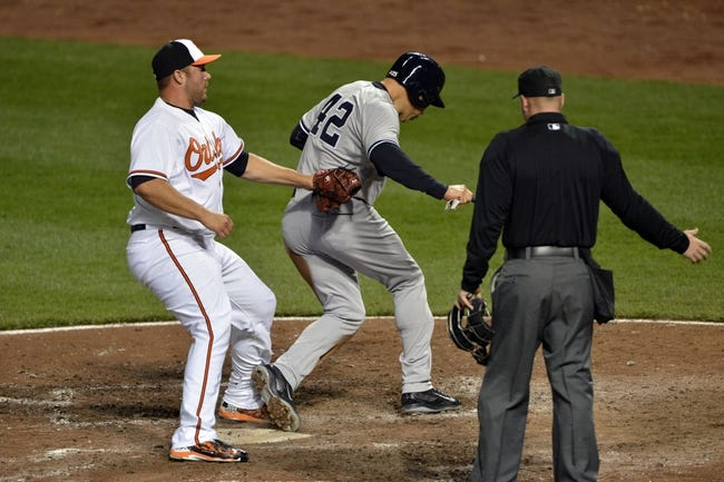 Orioles at Yankees - 5/7/15 MLB Pick, Odds, and Prediction