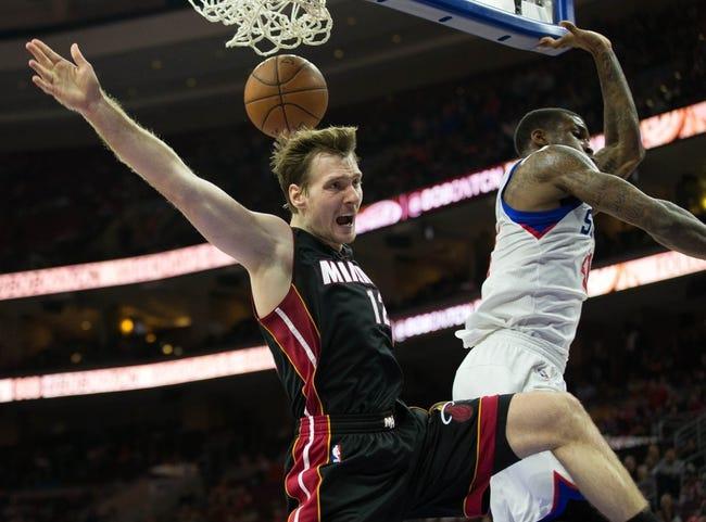 Miami Heat vs. Philadelphia 76ers - 11/21/15 NBA Pick, Odds, and Prediction
