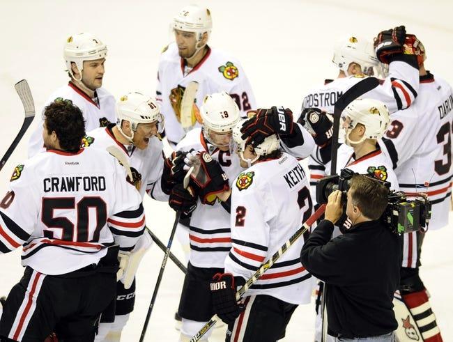 Chicago Blackhawks at Nashville Predators- 4/17/15 NHL Pick, Odds, and Prediction