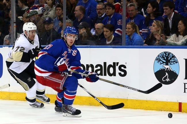 New York Rangers vs. Pittsburgh Penguins - 4/18/15 NHL Pick, Odds, and Prediction