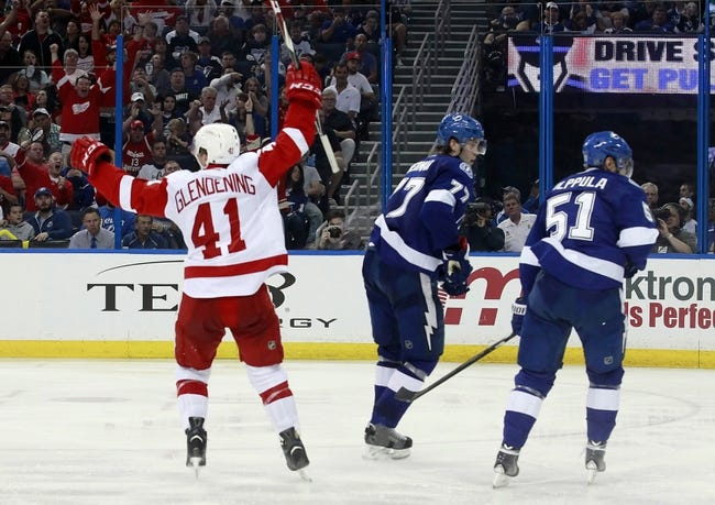 Tampa Bay Lightning vs. Detroit Red Wings - 4/18/15 NHL Pick, Odds, and Prediction