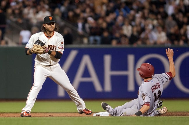 MLB | Arizona Diamondbacks (5-5) at San Francisco Giants (3-8)