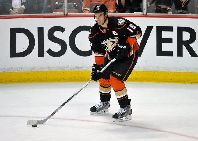 Anaheim Ducks vs. Winnipeg Jets - 4/18/15 NHL Pick, Odds, and Prediction