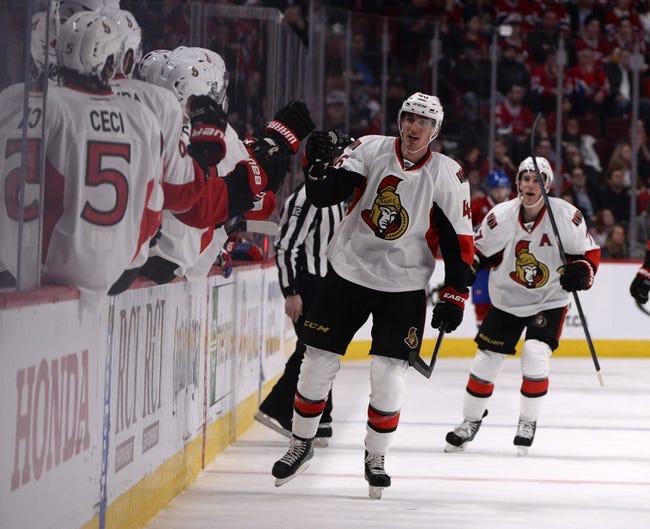 Ottawa Senators vs. Montreal Canadiens - 4/19/15 NHL Pick, Odds, and Prediction