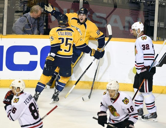 Chicago Blackhawks vs. Nashville Predators - 4/19/15 NHL Pick, Odds, and Prediction