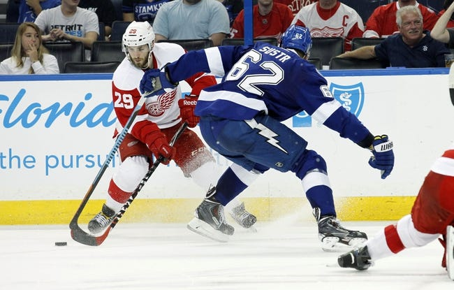 Detroit Red Wings vs. Tampa Bay Lightning - 4/21/15 NHL Pick, Odds, and Prediction