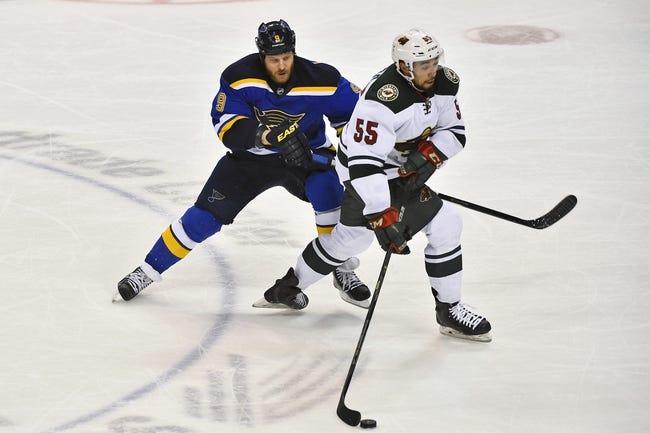NHL | St. Louis Blues (51-25-7) at Minnesota Wild (47-28-8)