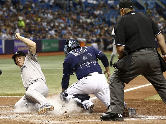 Rays vs. Yankees - 4/19/15 MLB Pick, Odds, and Prediction