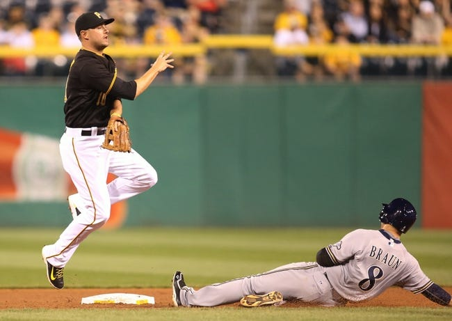 Pirates vs. Brewers - 4/19/15 MLB Pick, Odds, and Prediction