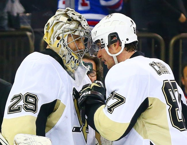 New York Rangers at Pittsburgh Penguins - 4/20/15 NHL Pick, Odds, and Prediction