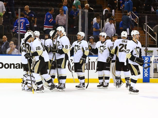 Rangers at Penguins - 4/20/15 NHL Pick, Odds, and Prediction