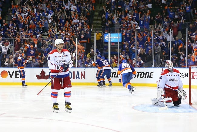 New York Islanders vs. Washington Capitals - 4/21/15 NHL Pick, Odds, and Prediction
