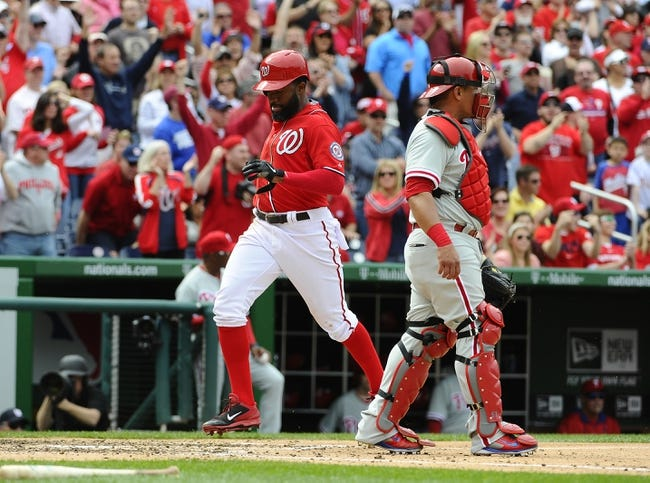 Phillies at Nationals - 5/22/15 MLB Pick, Odds, and Prediction