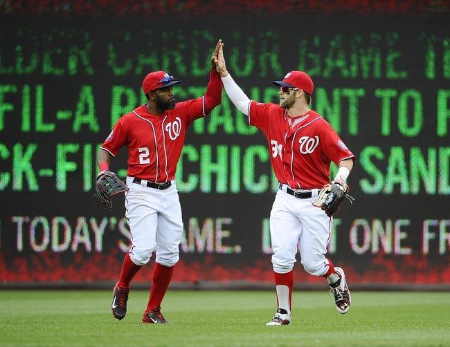 Washington Nationals vs. Philadelphia Phillies - 5/22/15 MLB Pick, Odds, and Prediction