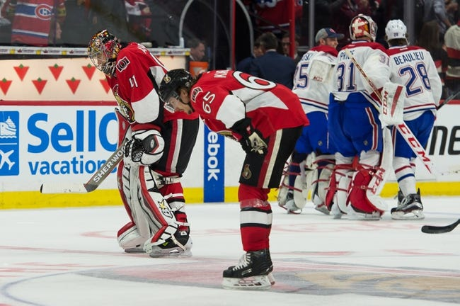 Ottawa Senators vs. Montreal Canadiens - 4/22/15 NHL Pick, Odds, and Prediction