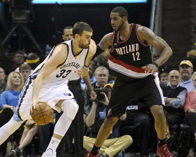 Memphis Grizzlies vs. Portland Trail Blazers - 4/22/15 NBA Pick, Odds, and Prediction