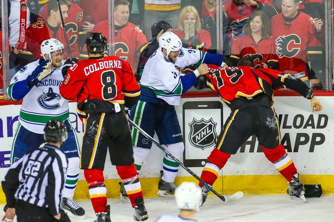 Calgary Flames vs. Vancouver Canucks - 4/21/15 NHL Pick, Odds, and Prediction