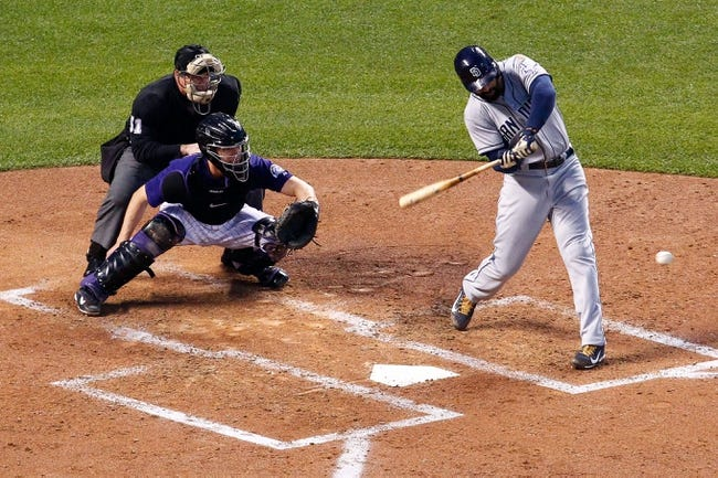 Rockies vs. Padres - 4/21/15 MLB Pick, Odds, and Prediction